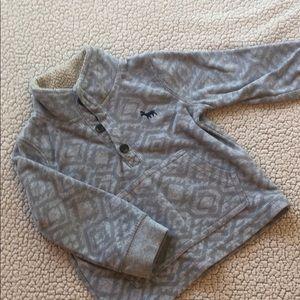 Boys fleece pullover.